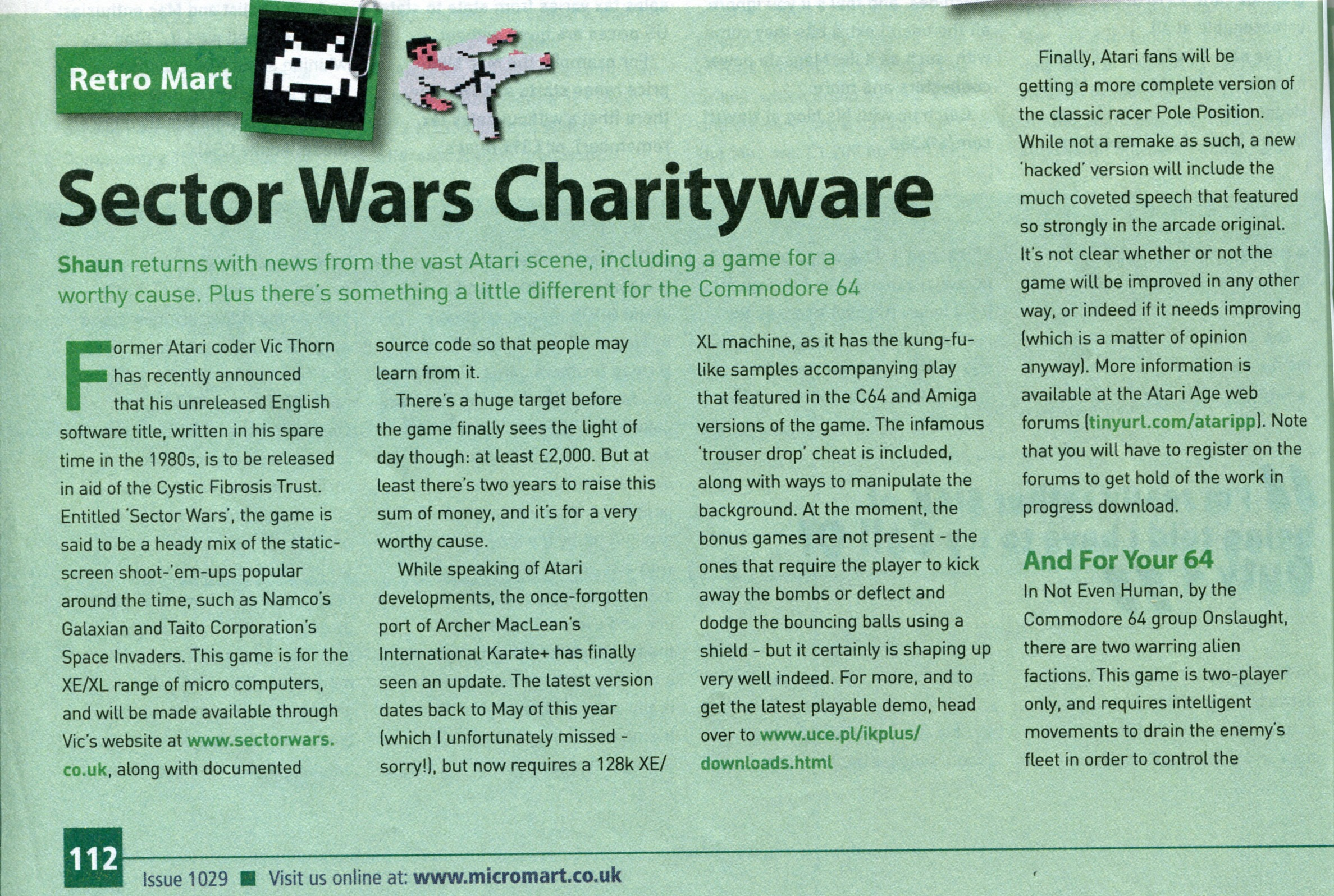 Sector Wars Article